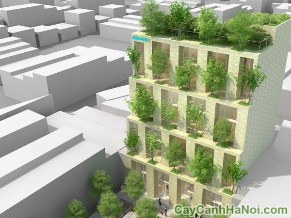 kiến trúc xanh nổi tiếng ở việt nam