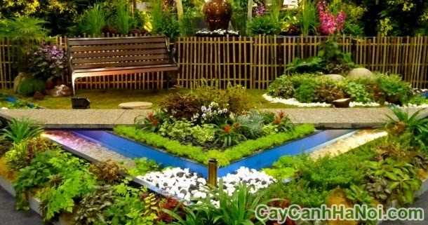 xu hướng thiết kế cảnh quan sân vườn