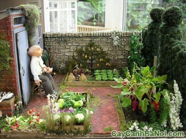sai lầm khi thi công tiểu cảnh sân vườn