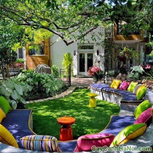 xu hướng thiết kế tiểu cảnh sân vườn